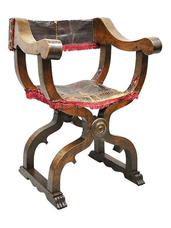 Древнеегипетский крестообразный стул