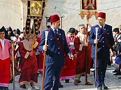 Кавасы перед церемонией