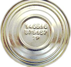 маркировка консервных банок