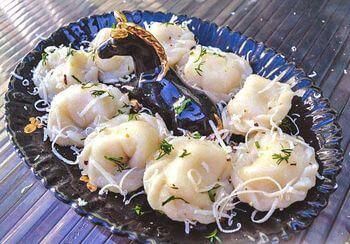 пельмени с рыбой и сыром рецепт