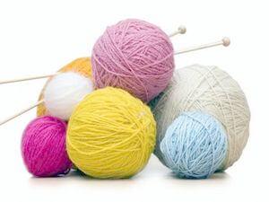 старое хобби вязание